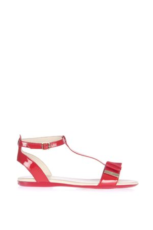 RED PATENT LEATHER SANDALS SS 2016 HOGAN | 87 | HXW1330U700OW0R001