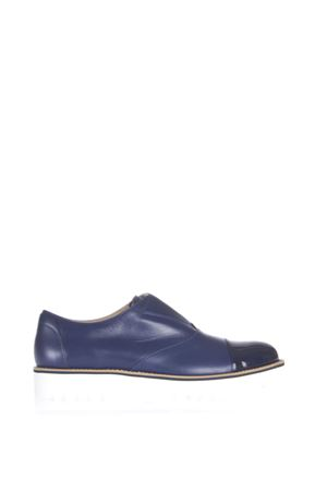 ROUTE SLIP-ON HOGAN IN PELLE CON PUNTA IN VERNICE PE 2016 HOGAN | 55 | HXW2590O79182DU800