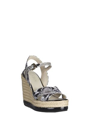 PYTHON LEATHER WEDGE SANDAL SS 2016 HOGAN | 87 | HXW2860R460BT5B002