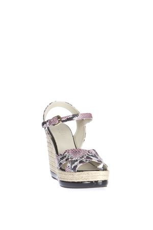 PYTHON LEATHER WEDGE SANDAL SS 2016 HOGAN | 87 | HXW2860R460BT5M405