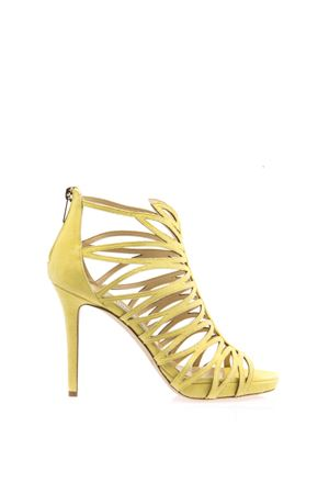 KERA SUEDE & LEATHER SANDALS SS 2016 JIMMY CHOO | 87 | KERA100 SUBUTTERCUP