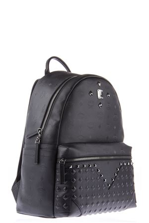 LARGE STUDDE LEATHER BACKPACK ss 2016 MCM | 183 | MMK6SX022BK0011001