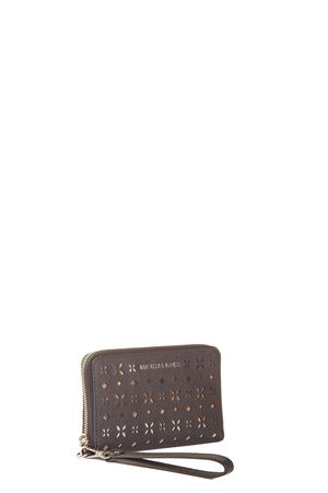 PERFORATED LEATHER WALLET SS 2017 MICHAEL MICHAEL KORS | 5 | 32T6STVE2ULG FLAT MF PHN CASE057