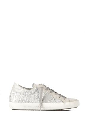 GLITTER LEATHER SNEAKERS SS 2016 PHILIPPE MODEL | 55 | CLLDCLASSIC GLITTERGP03