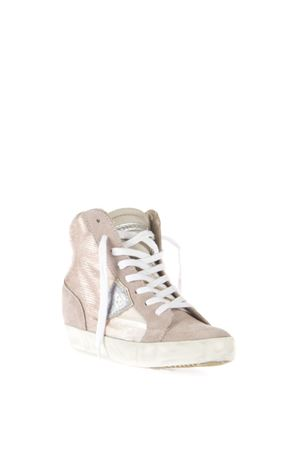 GLITTER FABRIC & LEATHER SNEAKERS SS 2016 PHILIPPE MODEL | 55 | PFHDPIAF LAS VEGASLP25