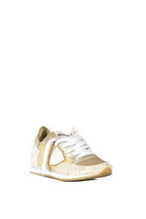 TROPEZ NYLON & GLITTER FABRIC SNEAKERS SS 2016 PHILIPPE MODEL | 55 | TRLDTROPEZ BASSAGT01
