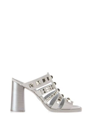 STUDDED LEATHER SANDALS SS 2016 STRATEGIA | 87 | A2964FARMGRIGIO