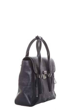 BORSA PASHLI MEDIA IN PELLE PE17 3.1 PHILLIP LIM | 2 | AC00-0179SKCPASHLI MEDIUM SATCHELBLK-NICKEL