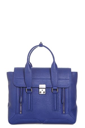 BORSA PASHLI MEDIA IN PELLE PE17 3.1 PHILLIP LIM | 2 | AC00-0179SKCPASHLI MEDIUM SATCHELCOBALT
