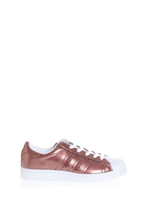 SUPERSTAR METALLIC LEATHER SNEAKERS SS 2017 ADIDAS ORIGINALS | 55 | BB2270SUPERSTARA537