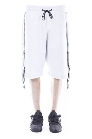 KNEE-LENGTH COTTON BLEND SHORTS SS 2017 Y-3 | 110000034 | BR1684M SCIFIWHITE