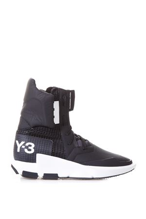SNEAKERS STIVALI NOCI IN NYLON E PELLE AI 2017 ADIDAS Y-3 | 55 | BY2625NOCI HIGHBLACK/BLACK