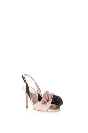 LEATHER SANDALS WITH BOW DETAIL ss 2017 ALDO CASTAGNA | 87 | KIRAUNICIPRIA/NERO