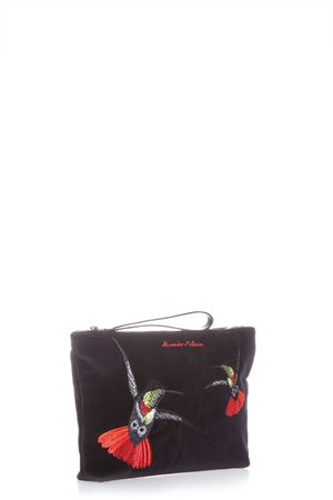 EMBROIDERED SWALLOW  POUCH SS 2017 ALEXANDER McQUEEN | 5 | 460623KR44N1076