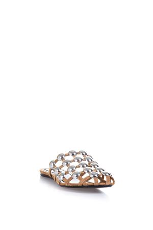 STUDDED SUEDE & LEATHER MULES SS 2017 ALEXANDER WANG | 87 | 301119AMELIA263