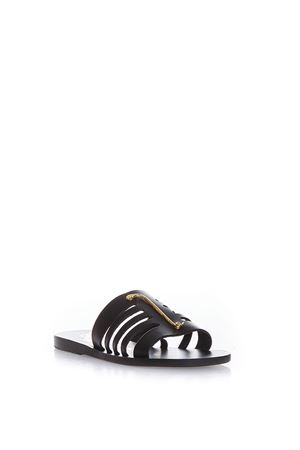 PROPILAIA LEATHER SANDALS SS 2017 ANCIENT GREEK | 87 | PROPILAIA SNAKES1BLACK