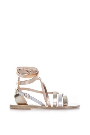 SATIRA METALLIC LEATHER SANDALS SS 2017 ANCIENT GREEK | 87 | SATIRA1PINK