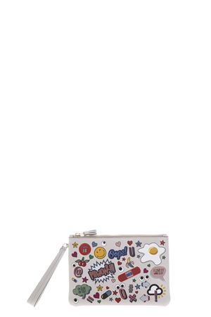 PATCH ZIPPED CLUTCH SS17 ANYA HINDMARCH | 5 | 94003011