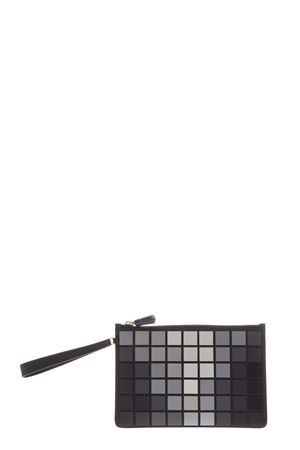 SQUARE PRINT ZIPPED CLUTCH SS17 ANYA HINDMARCH | 5 | 94763311