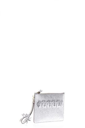 CIRCLE GLITTER HAND BAG SS17 ANYA HINDMARCH | 5 | 9499411SILVER