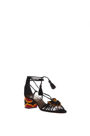 SAMBA SANDALS SS 2017 AQUAZZURA | 87 | SABMIDS0SUE-000BLACK