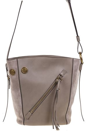MYER SMALLLEATHER AND SUEDE SHOPPER SS17 CHLOÉ | 2 | 3S1281HEUB79
