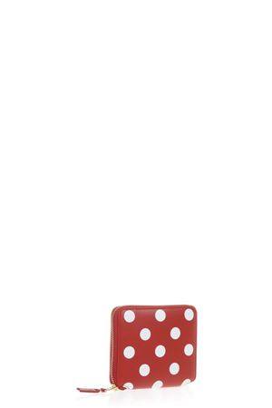 POLKA DOT LEATHER WALLET SS 2017 COMME DES GARCONS | 34 | SA2100PD1RED