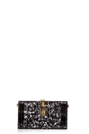 DOLCE BOX CLUTCH IN PLEXIGLASS AND INSET TAORMINA LACE SS 2017 DOLCE & GABBANA | 2 | BB6232AD76280999
