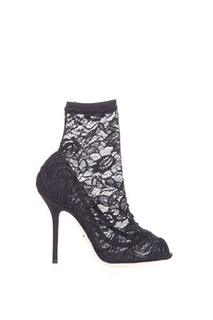 PUMPS COCO WITH LACE SOCKS SS 2017 DOLCE & GABBANA | 52 | CT0077A58758B956