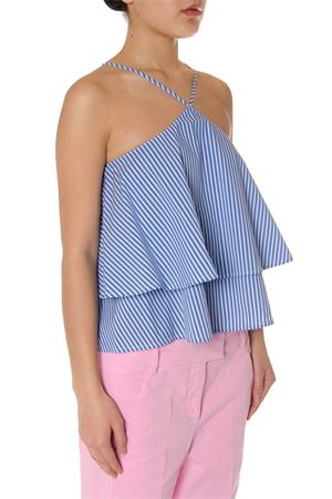 TOP IN MISTO COTONE A RIGHE PE 2017 DONDUP | 13 | C875ES028DXXXPDDELEKTRA809