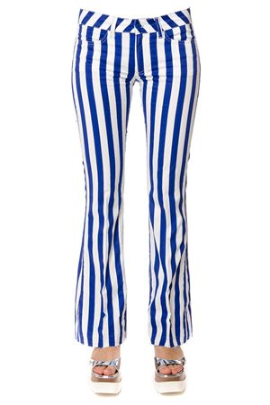 STRIPED COTTON TROUSERS SS 2017 DONDUP | 8 | DP126ES029D002PDDNEON811