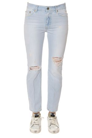 JEANS IN DENIM DI COTONE DESTROYED PE 2017 DONDUP | 4 | P611DF164DO72PDHPAIGE800