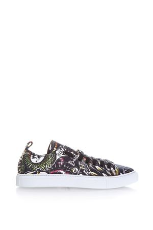 SNEAKERS IN TESSUTO STAMPA MULTICOLOR PE 2017 DSQUARED2 | 55 | S17SN116758M037