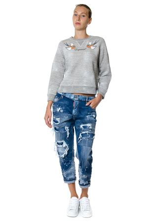JEANS TOMBOY IN DENIM DESTOYED PE 2017 DSQUARED2 | 4 | S73LA0172S30342470