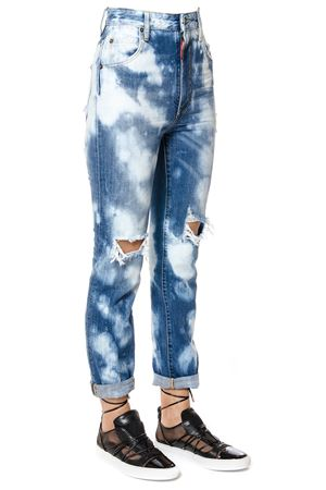 SKINNY BLEACHED JEANS SS17 DSQUARED2 | 4 | S73LA0204S30309470