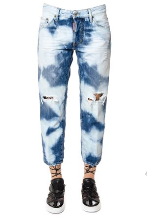 CROPPED COOL GIRL BLEACHED JEANS SS 2017 DSQUARED2 | 4 | S73LA0206S30309470