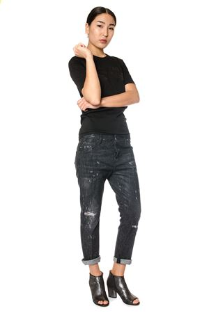 JEANS COOL GIRL IN DENIM CON MICROBORCHIE PE 2017 DSQUARED2 | 4 | S75LA0851S30357900