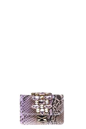 CLIKY EMBELLISHED PYTHON CLUTCH SS 17 GEDEBE | 2 | MINI CLIKYPYTHONLILLA JUNGLE
