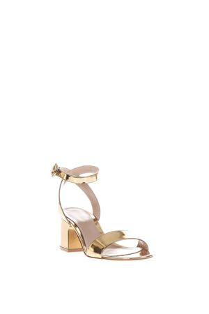 50MM METALLIC LEATHER SANDALS SS 2017 GIANVITO ROSSI | 87 | G30048METMEKO4
