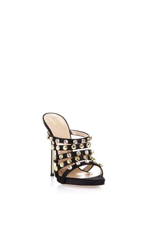 CAMILLA MULES WITH CRYSTALS AND STUDS SS 2017 GIUSEPPE ZANOTTI | 87 | E70165C71053003