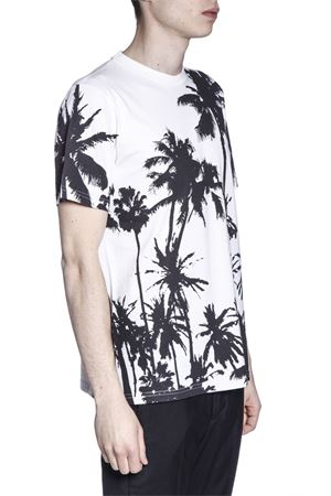 T-SHIRT IN COTONE STAMPA PALME PE 2017 GOLDEN GOOSE DELUXE BRAND | 15 | G30MP5241D3