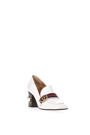 EMBELLISHED LEATHER LOAFERS SS 2017 GUCCI | 130 | 425943DKHC09061