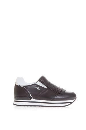 SLIP-ON IN PELLE CON FRANGE PE 2017 HOGAN | 55 | HXW2220X170DZF0160