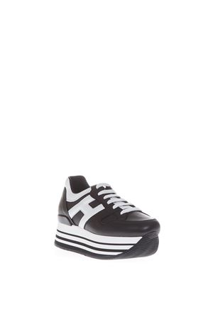 MAXI H222 LEATHER SNEAKERS SS 2017 HOGAN | 55 | HXW2830T541DU00002