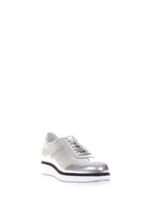 H323 METALLIC LEATHER SNEAKERS SS 2017 HOGAN | 55 | HXW3230Y480GNB0906
