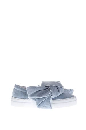 SLIP-ON IN DENIM CON FIOCCO PE 2017 JOSHUA SANDERS | 55 | 10078DENIM AZURE