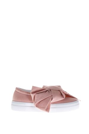 SLIP-ON IN DENIM CON FIOCCO pe 2017 JOSHUA SANDERS | 55 | 10078DENIM PINK