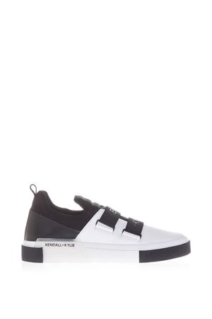 20MM GAIL NEOPRENE AND LEATHER SNEAKERS SS 2017 KENDALL+KYLIE | 55 | KKGAIL02WHITE/BLACK