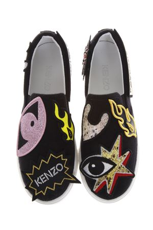 SLIP-ON K-PATCH IN TESSUTO PE 2017 KENZO | 55 | F752SL424F65199