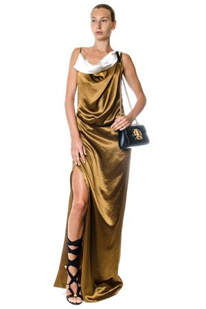 LAMINATED SATIN LONG DRESS SS 2017 LANVIN | 32 | RWDR21943509M4